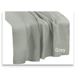 Chiffon Table Runner Grey