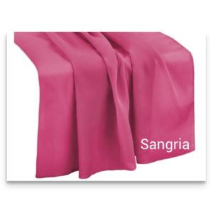 Chiffon Table Runner Sangria